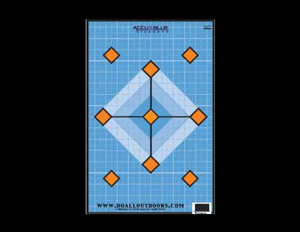 DoAll Accu Blue Diamond Paper Target 12X18 - PT14