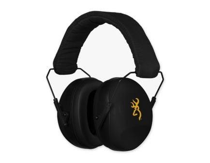Browning Buckmark II Hearing Protector Earcups, Black - 12682