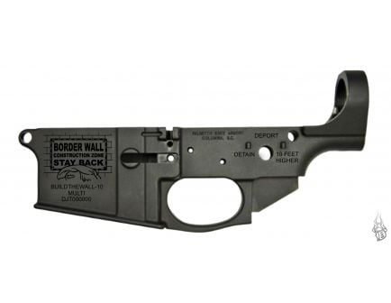 "PSA Gen2 PA-10 ""Build The Wall"" Stripped Lower Receiver"