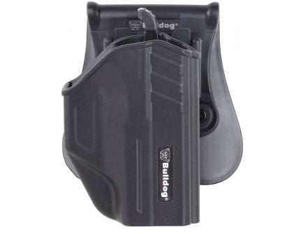 Bulldog TR-G17 Thumb Release Holster for Glock 17/22/31 w/ Mag Pouch, Right