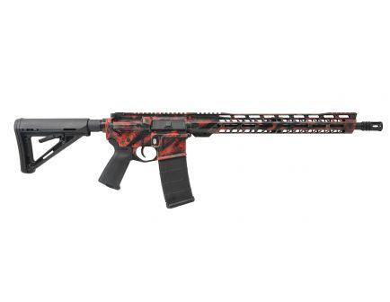 "PSA Custom ""Ravage"" 16"" Nitride, 5.56 NATO, 15"" V2  Slant MLOK MOE Rifle"