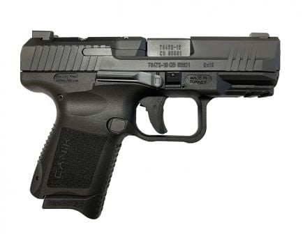 "Canik TP9 Elite SC Blackout 3.6"" Pistol"