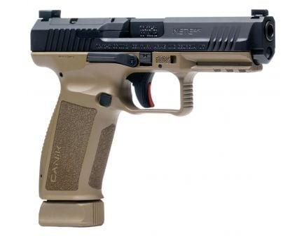 Canik TP9 METE SFT Optics Ready 9mm Pistol, FDE/Black