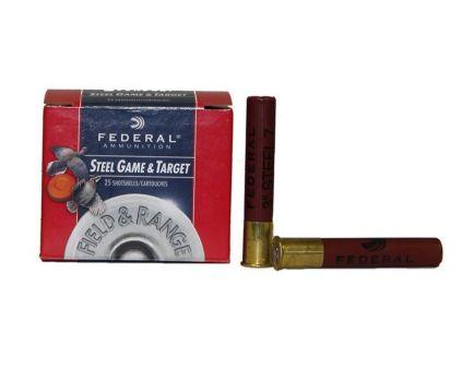 "Federal 410ga 3"" 3/8oz #7 ""Field & Range"" Steel Shotshells 25rds - FRS413 7"