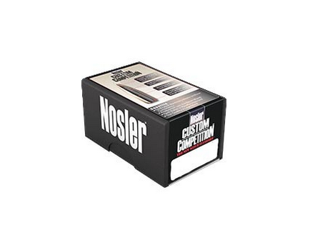 Nosler 22 Caliber (.224) 77gr Custom Competition Hollow Point Boat Tail Bullets 100ct - 22421