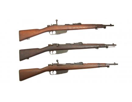 Surplus Carcano M91/24 TS 6.5x52 Rifle - Used Surplus Condition