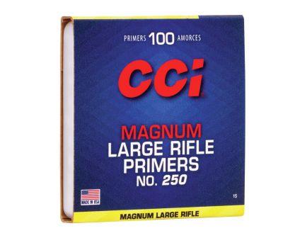 CCI Large Magnum Rifle 100 Primers For Sale