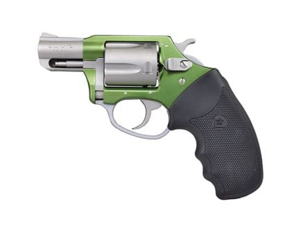 Charter Arms Shamrock .38 Special Revolver, Green/Stainless