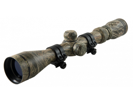 Weaver 3-9x40mm Camo Rifle Scope Dual-X reticle with rings 849991
