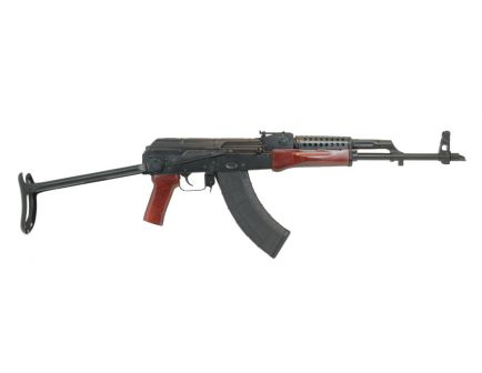 PSAK-47 GF3 Forged Red Wood Under Folder Rifle with Cheese Grater Upper Handguard