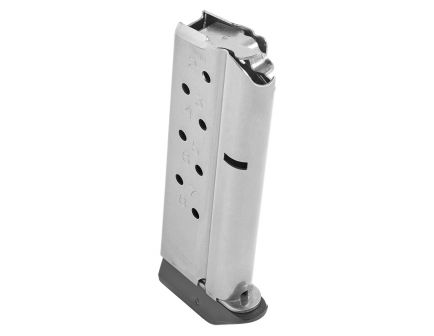 Chip McCormick 1911 Compact 8 Round 9mm Magazine With Baseplate, Stainless