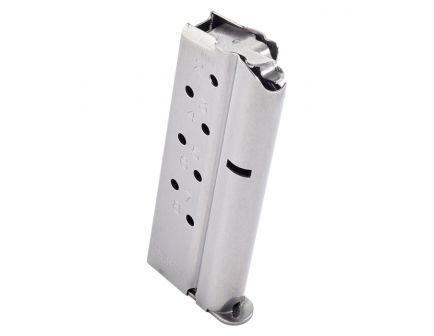 Chip McCormick Match Grade 1911 Compact 8 Round 9mm Magazine, Stainless