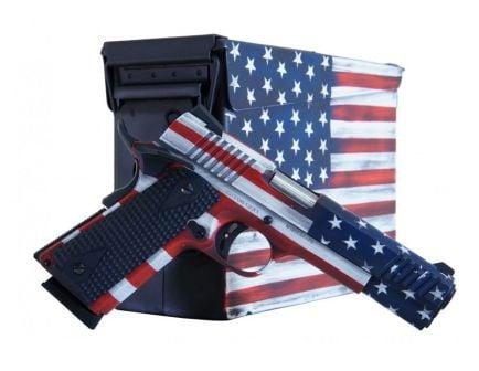 Legacy Sports Citadel M1911 .45 ACP Pistol, American Flag Cerakote - CITC45FUSAAC