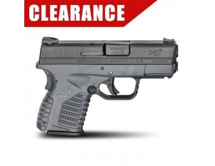 Springfield Armory XDS 9mm Pistol, Grey Essentials Clearance