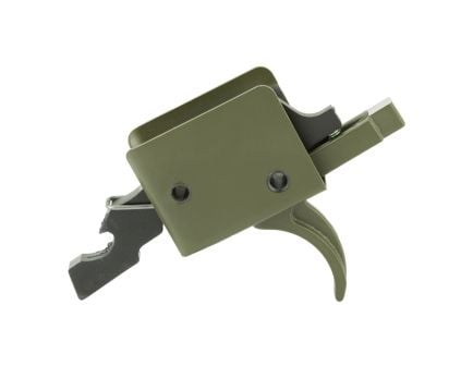 CMC Match Curved Single Stage AR-15 Trigger, ODG