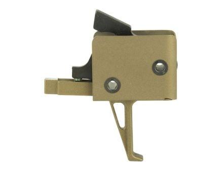 CMC Match Flat Single Stage AR-15 Trigger, Burnt Bronze
