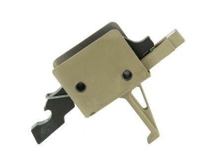 CMC Match Flat Single Stage AR-15 Trigger, FDE