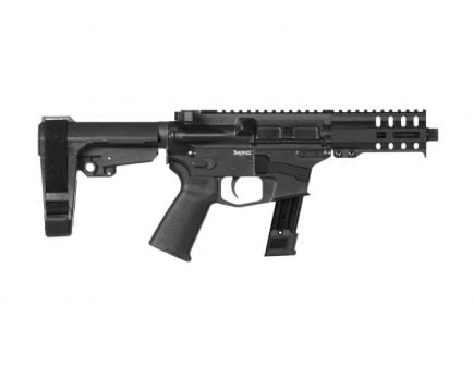 CMMG Banshee 300 MK17 Semi Automatic 9mm Pistol, Graphite Black