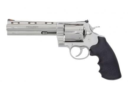 "Colt Anaconda 6"" .44 Magnum Revolver, Stainless"