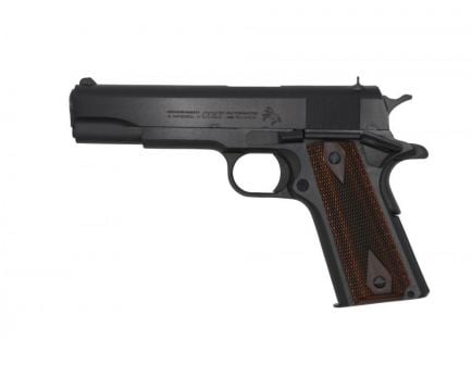 Colt C-38 1911 .38 Super Pistol, Blued