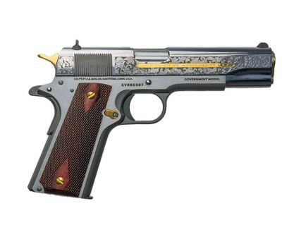 Colt Heritage 1911 .38 Super Pistol | Custom Engraved