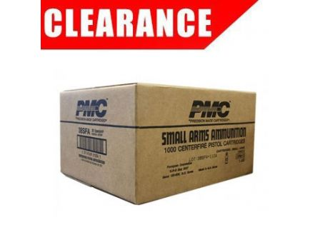 PMC Starfire 38 Special+P 125gr SFHP Ammunition 1000 Round Case (50 boxes of 20)- 38SFA