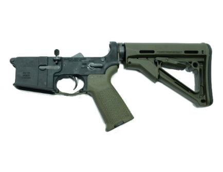 OD Green Magpul CTR AR 15 complete lower