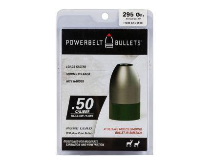 CVA Powerbelt Pure Lead .50 Cal 295 gr Lead Hollow Point 15 Bullets