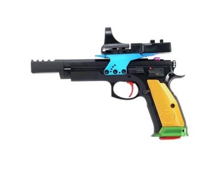 CZ 75 Czechmate Parrot 9mm Pistol, Black