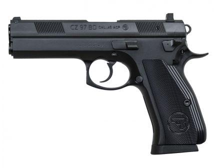 CZ 97 BD .45 ACP Pistol, Black - 1416