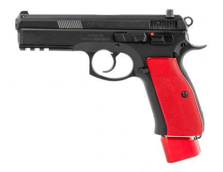 CZ USA SP-01 9mm Pistol | Red Aluminum Grip