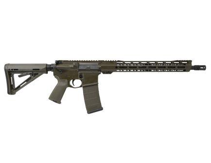 """PSA Custom 5.56 NATO, 16"""" Nitride, 15"""" V2 Slant MLOK MOE Rifle"""