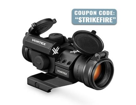 Vortex Strikefire II 4 MOA Bright Red Dot Optic - SF-BR-503