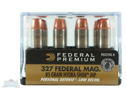 Federal 327 Magnum  85gr Hydra-Shok Ammunition - PD327HS1H
