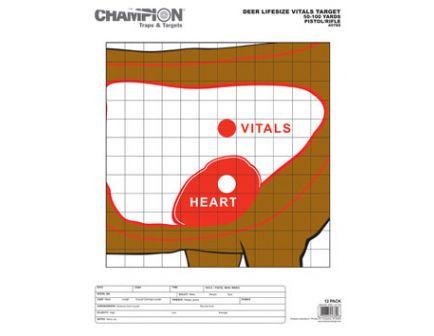 Champion DEER VITALS TARGET 12PK 45789