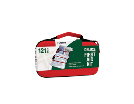 Lifeline 121 PC HARDSHELL FIRST AID KIT