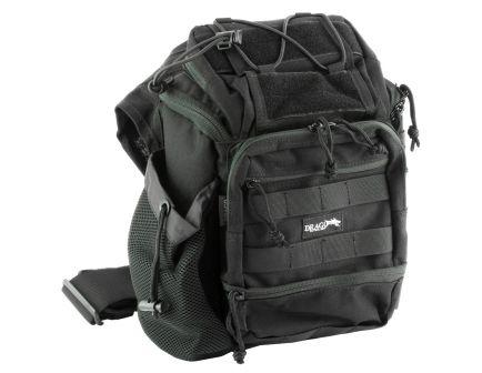 "Drago Gear Ambi Shoulder Pack, 11.5""x10""x8"", Black - 15-303BL"