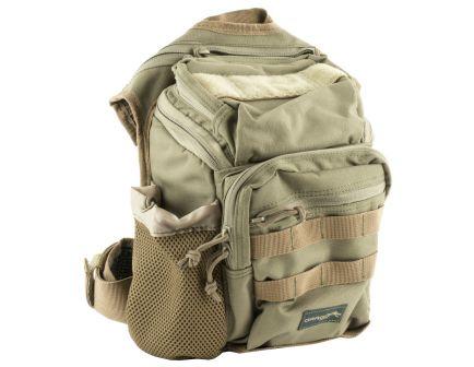 """Drago Gear Ambi Shoulder Pack,11.5""""x10""""x8"""", Tan - 15-303TN"""