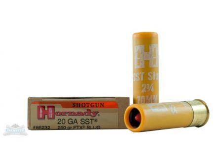 Hornady 20ga 250gr FTX Slug Ammunition 5rds - 86232