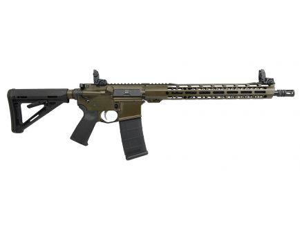 """PSA Custom .300 Blackout, 16"""" Nitride, 15"""" V2 MLOK MOE Rifle w/MBUS"""