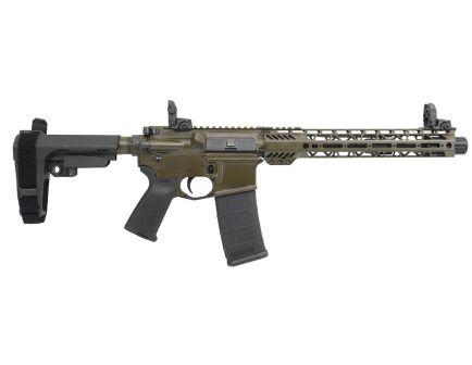 "PSA Custom 5.56 NATO, 11.5"" Nitride, 12.5"" Cross-Cut Handguard, SBA3 Pistol w/MBUS"