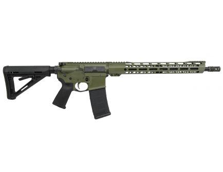 """PSA Custom 5.56 NATO 16"""" Nitride, 15"""" V2 Slant MLOK MOE Rifle"""