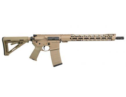 "PSA Custom .300 AAC BO 16"" Nitride, 15"" V2 Slant MLOK MOE Rifle"