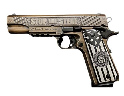 EAA Stop The Steal 1911 .45 ACP Pistol, Distressed