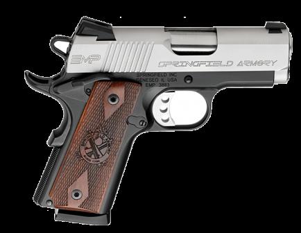 "Springfield Armory EMP .40 cal 3"" Bi-Tone Pistol Cocobolo Grips PI9240L"