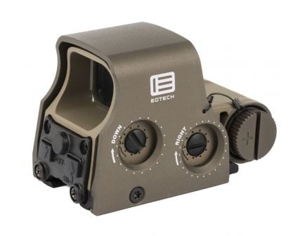 EOTech XPS2 Holographic Weapon Sight, Green/Tan - XPS2-0TANGRN
