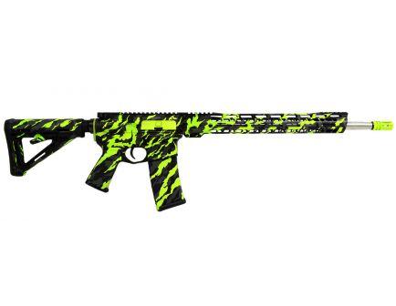 "PSA Custom .223 Wylde, 16"" Nitride, 15"" V2 Slant MLOK MOE Rifle w/ 3.5lb Curved Bow FCG"