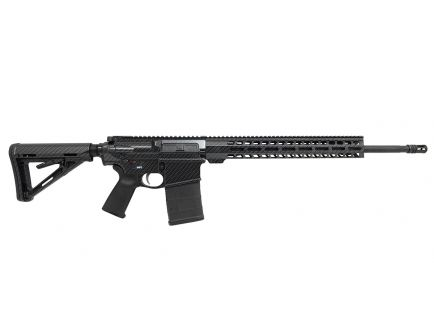 "PSA Custom ""Carbon Fiber"" GEN3 PA10 20"" Rifle Length 6.5 Creedmoor 1:10 Teflon Coated Stainless Steel, 15"" Lightweight MLOK Rifle"