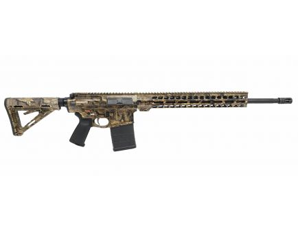 "PSA Custom Realtree  Timber GEN3 PA10 20"" Rifle Length 6.5 Creedmoor 1:10 Teflon Coated Stainless Steel, 15"" Lightweight MLOK Rifle"