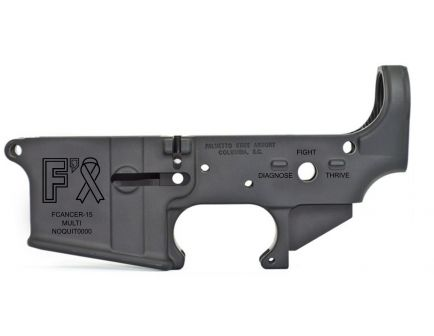 "PSA AR-15 ""FCancer-15"" Stripped Lower Receiver"